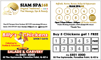 "Smarter Printing - Low Prices ""Loyalty Card"""